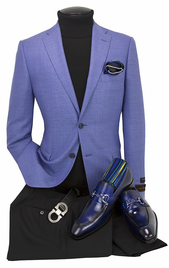 Men's Blazer by Tiglio Luxe - Firenze PBlue
